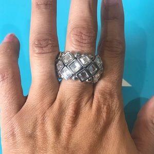 Lia Sophia Tessellate Ring